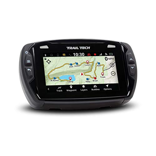 Trail Tech Voyager Pro 922-111, Motorcycle GPS 4-inch Touch Screen, for 2017-2018 KTM Husqvarna