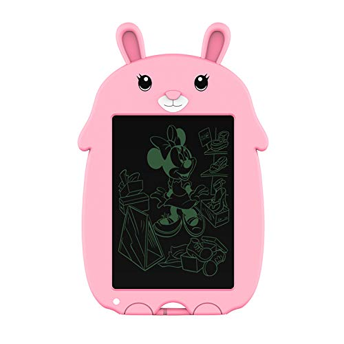 doosl. LCD Writing Tablet, 8.5 Inch Electronic Drawing & Writing Board - Reusable Doodle & Scribble Board for Kids, Paperless Memo Note Pad for Home, Office and School (Pink)