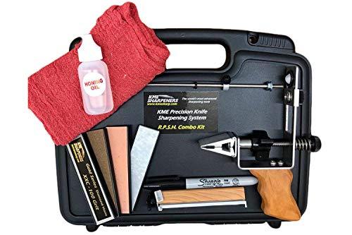 KME RPSH Combo Kit Knife Sharpener - with Base