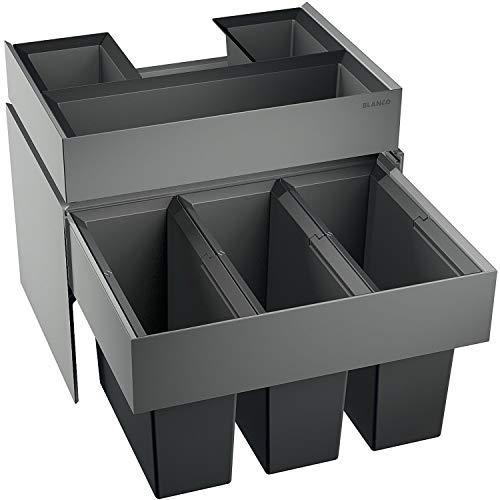 BLANCOSELECT 60/3 Orga système de tri sélectif des déchets, tiroir avec compartiments...