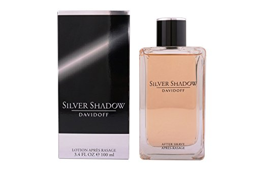 Davidoff Silver Shadow Aftershave Lotion homme / man, 100 ml 1er Pack(1 x 100 milliliters)