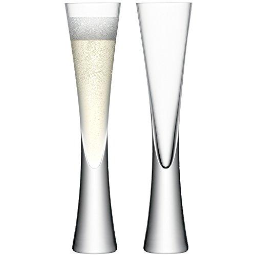 LSA Moya Champagnerflöten 24,5cm Höhe, 5,5cm Durchmesser, 2Stück