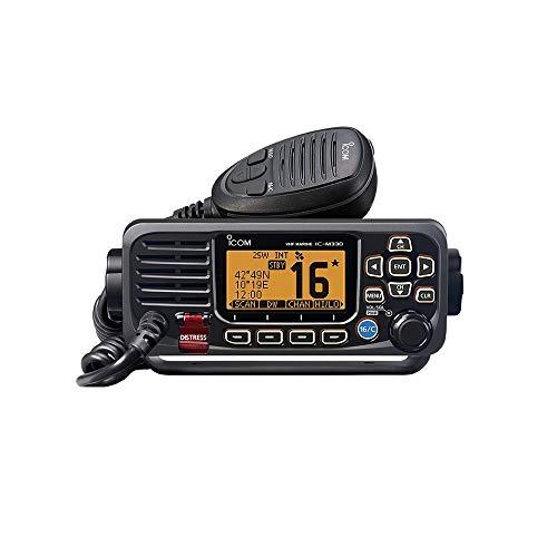 ICOM IC-M330G GPS INTEGRATO RICETRASMETTITORE VHF NAUTICO DSC IN CLASSE D DSC - IPX7 (Nero)