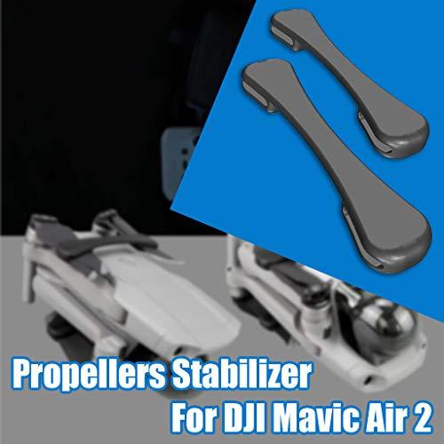 CUEYU Propellers Holder Guard Prop Blade Stabilizer für DJI Mavic Air 2 Drone, 2 Pcs Propeller Stabilisator, Silikon Propeller Transport Clip Protector Kompatibel mit DJI Mavic Air 2