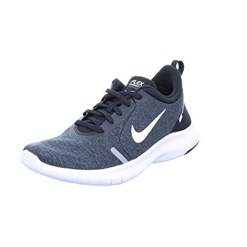 Nike Men's Flex Experience Rn 8 Blk-Wht35 Running Shoes-7 UK (41 EU) (8 US) (AJ5900-013)
