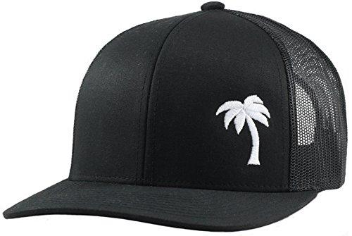 LINDO Trucker Hat - Palm Tree Series (Black)