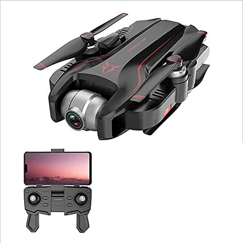 FMHCTN Drone Quadcopter UAV con Fotocamera da 48 MP Video 4K Gimbal a 3 Assi Tempo di Volo 34 min, Funzione sensore di gravità, Un Tasto di decollo/atterraggio, Rosso 4