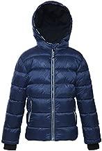 Rokka&Rolla Boys' Heavyweight Water-Resistant Fleece Lined Puffer Jacket Bubble Coat