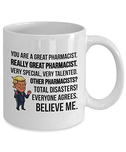 Trump Pharmacéutico regalos farmacéutico farmacéutico taza nuevo farmacéutico graduación farmacia regalos farmacia farmacia tazas farmacia estudiantes farmacia