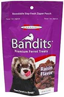 Marshall Pet Products Mr00383 Bandit Ferret Treats Raisin - 3 Oz.
