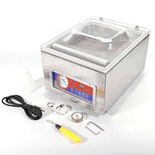 Máquina de envasado al vacío, de acero inoxidable, para envasar al vacío, doble costura de soldadura, para medios de vida, instrumento preciso, metal raro, etc.