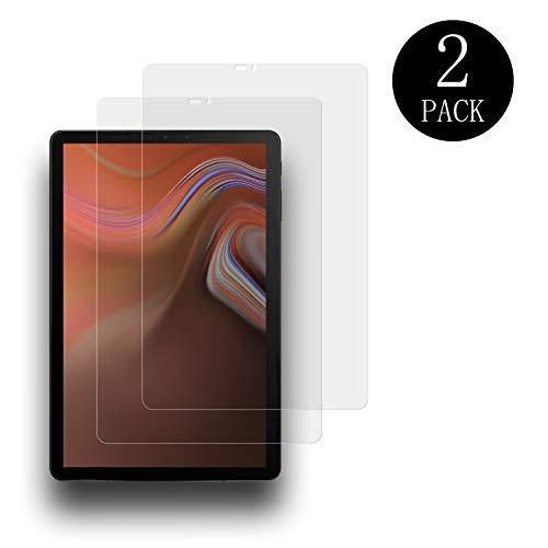 aiMaKE Galaxy Tab S4 10.5 Panzerglas Schutzfolie,[2 Stück] Panzerglasfolie für Samsung Galaxy Tab S4 10,5 T830/T835, 9H Festigkeit/Anti-Kratzer, Bildschirmschutzfolie für Samsung Galaxy Tab S4 10,5