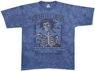 Liquid Blue Men's Grateful Dead Shrine Exhibit Hall Short Sleeve T-Shirt