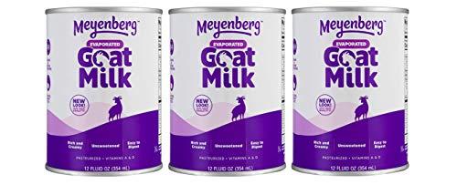 MEYENBERG GOAT MILK LIQ EVAPRTD, 12 OZ (Pack of 3)