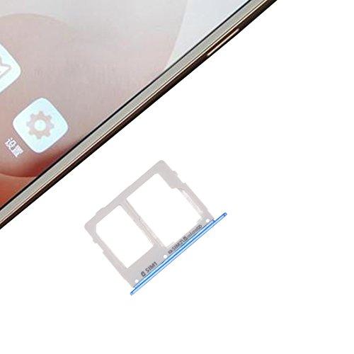 ASAMOAH Pieza de la Tarjeta SIM del reemplazo del teléfono Celular Tarjeta SIM Tray + Bandeja de Tarjeta SIM/Micro SD para Galaxy C7 Pro / C7010 y C5 Pro / C5010