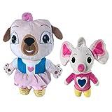 2pcs Chip And Potato Peluche Rosa Cane Topo Bambola di Peluche Giocattolo per Bambini Compleanno per Bambini 20 cm Decora i Regali