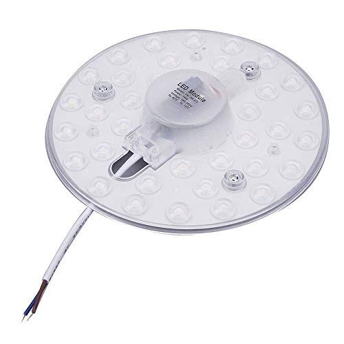 Luz del zócalo LED Techo Light Board 18W recambio equivalente 170W lámpara halógena adecuados Lente de luz LED Módulo de placa elíptica 2835 SMD 36 LED for 220V Iluminación for el hogar de la sala bla