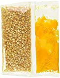 24-5.4 oz. Snap-Paks for 4 oz. Poppers - Yellow Popcorn, Coconut Oil, Buttery Flavored Salt by...