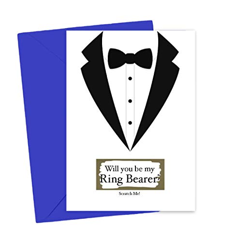 Will You Be My Ring Bearer Scratch Off Card