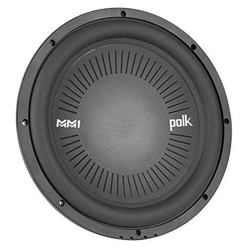 Polk Audio MM1042DVC, MM 10' Dual 4 Ohm Voice Coil Car, Marine, ATV Subwoofer