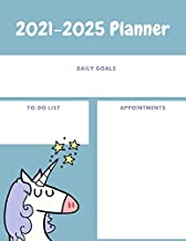 2021-2025 Planner: 60 Months Calendar, 5 Year Planner 2021-2025, Daily Goals, Appointments, Jan 2021 - Dec 2025, Planner To Do List Academic Schedule Agenda Logbook Or Student