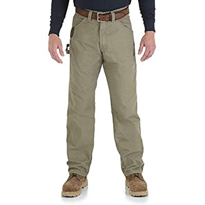 Wrangler Riggs Workwear Men's Ripstop Carpenter Jean,Bark,42x32