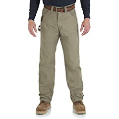ROOM2MOVE COMFORT. For long days on the job, you want a work jean that keeps you comfortable. Made with a relaxed fit, this pant features an action gusset crotch and deep front pockets for added range of movement and comfort in wear. CLASSIC CARPENTE...
