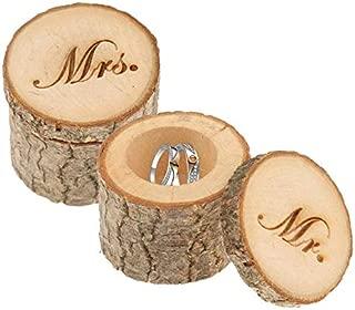his wooden wedding