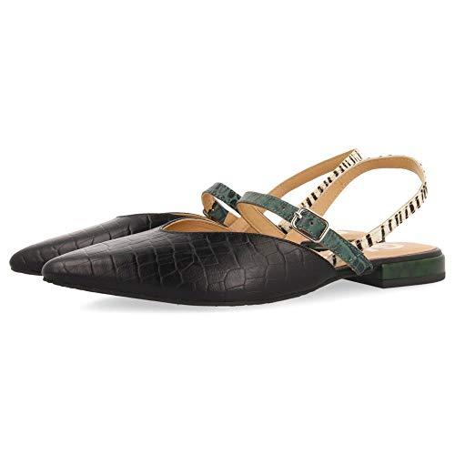 Gioseppo Primrose, Zapatos Tipo Ballet Mujer, Verde, 35 EU