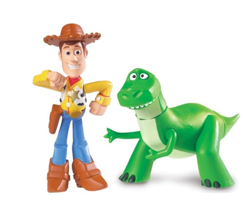 Disney Pixar Toy Story 3 Buddy Pack Figures Rex & Walking Woody