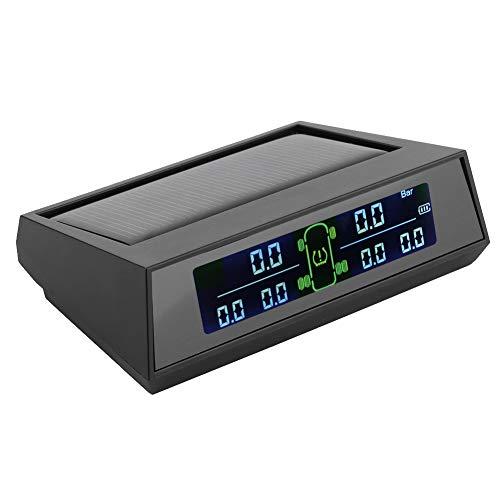 Gaeirt Monitor de presión de neumáticos de 6 sensores, Pantalla LCD HD Detector de presión de neumáticos para detección en Tiempo Real de la presión y Temperatura de los neumáticos para garantizar