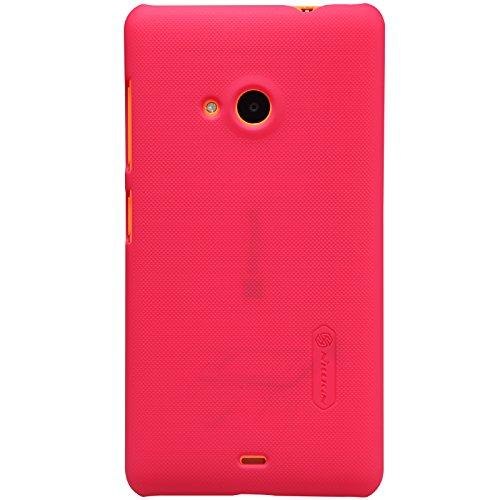 smartbuyzone nillkin super frosted shield Back Cover case for microsoft lumia 535 - red