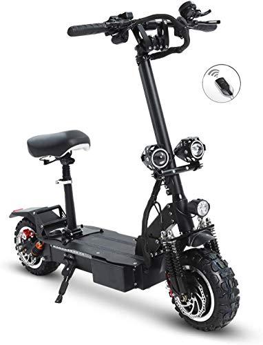 CAMTOP Patinete Electrico Adultos Potente Scooter Electrico con Asiento 3200W Motor Dual...