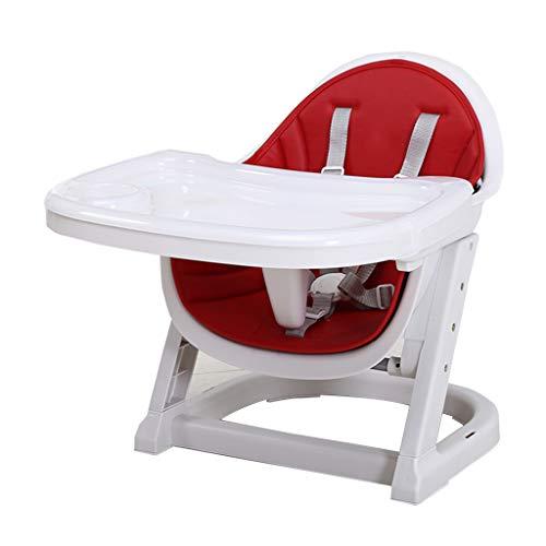 Sièges et Accessoires Table À Manger Chaise pour Enfant Table À Manger pour Bébé Coin-Repas pour Bébé Petit-déjeuner pour Enfants, Déjeuner Chaise pour Dîner (Color : Red, Size : 45cm*62cm*52cm)