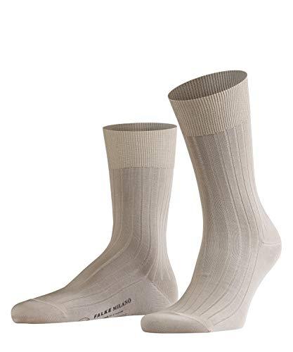 FALKE Herren Socken Milano, Baumwolle, 1 Paar, Beige (Sand 4320), 45-46 (UK 10-11 Ι US 11-12)