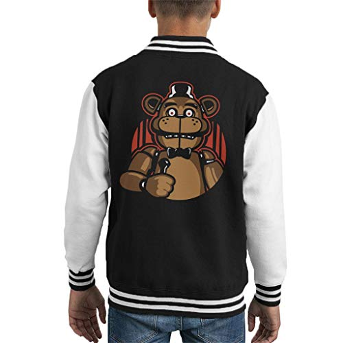 Sing with Me Five Nights at Freddys Kid's Varsity Jacket
