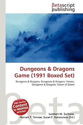 Dungeons & Dragons Game (1991 Boxed Set)