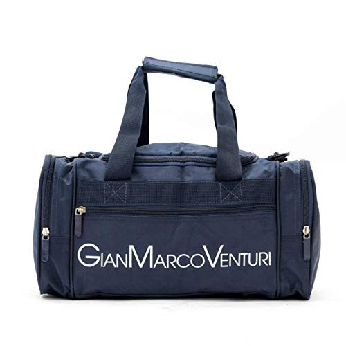 Borsa da Viaggio, 40x20x25 ryanair Bagaglio a Mano GianMarcoVenturi 025_(Blu)