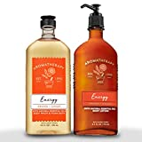 Bath & Body Works Aromatherapy Energy - Orange + Ginger...
