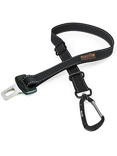 Mighty Paw Dog Seat Belt | Pet Safety Belt, Created with Human Seatbelt Material. All-Metal Hardware...