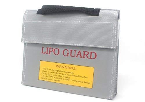 molinoRC LiPo Battery Guard Bag Lipo-Safe Lipotasche Lipotschutztasche Feuerbeständige Sicherheit Schutztasche Ladegerät Sack (21.5 * 4.5 * 16.5cm)
