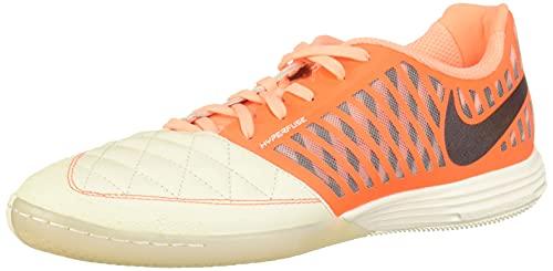 Nike Lunargato II, Zapatillas de Fútbol Hombre, Multicolor (Sail/Mahogany/Hyper Crimson/Orange Pulse 128), 44.5 EU