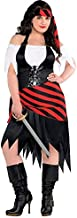 AMSCAN Rogue Maiden Pirate Halloween Costume for Women, Plus Size, with Included Accessories