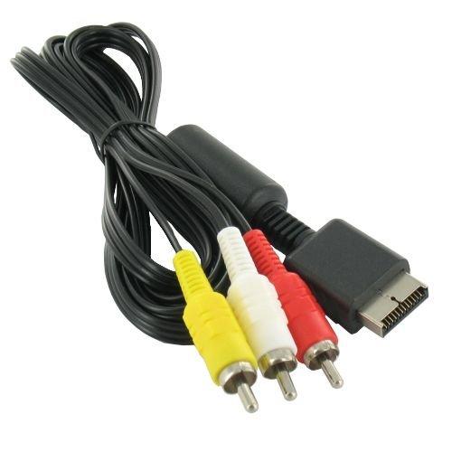 RGB AV Kabel für Playstation 1, 2 und 3 PS1/PS2/PS3 ca 2M