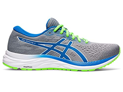 ASICS Men's Gel-Excite 7 Running Shoes, 9M, Sheet Rock/Directoire Blue