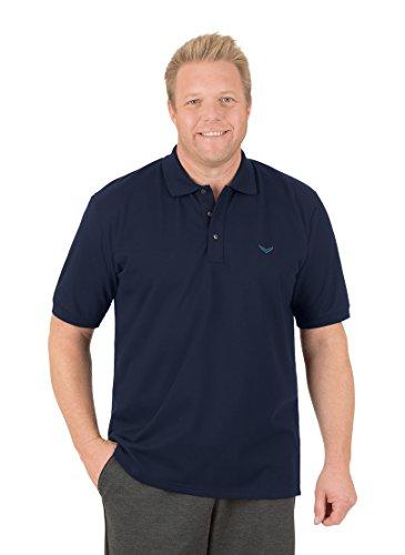 Trigema Herren Poloshirt Piqué-Qualität, navy, Gr. XL, navy