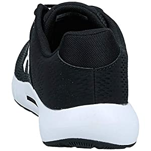 Under Armour Men's Micro G Pursuit BP Running Shoe, Black (001)/White, 10