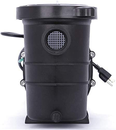 CLIENSY 1.5HP Swimming Pool Pump 110-240V Energy Saving Above Ground Pool Pump with Strainer Basket High Efficiency and Low Noise