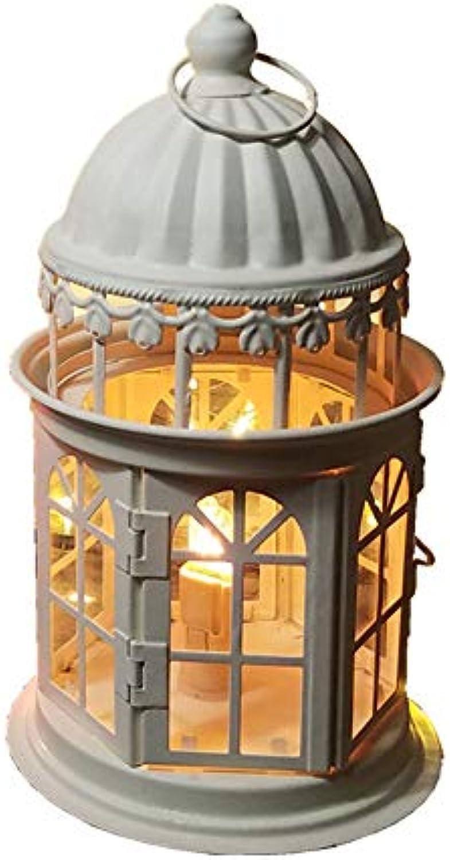 HLGY Geführte Kreative Prinzessin Castle Bedroom Nachttischlampe - Dimmable Himalayan Crystal Salt Licht Für Schlafzimmer Und Kinder Geschenke,Weiß