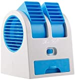 Verda Box (Festive Offer) Mini Fan & Portable Dual Bladeless Small Air Conditioner Water Air Cooler...